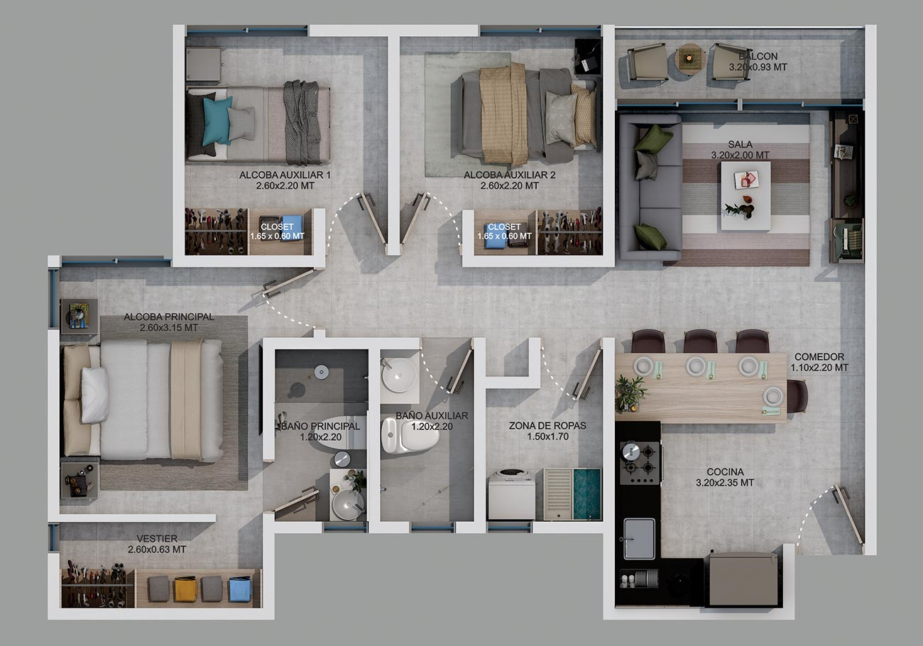 botanika apartamentos en armenia constructora camu