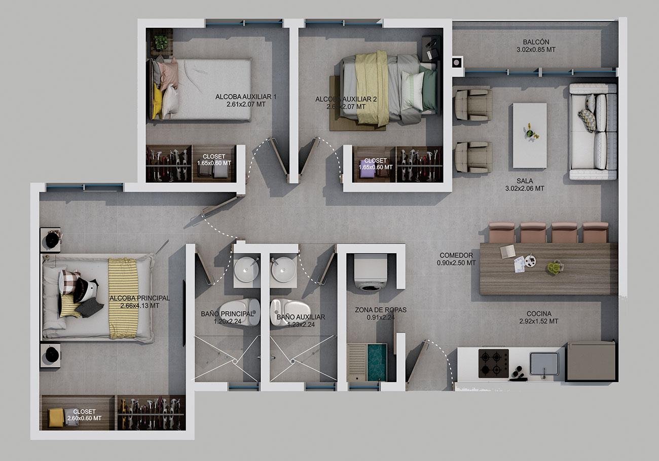 pradera viva apartamentos en dosquebradas risaralda
